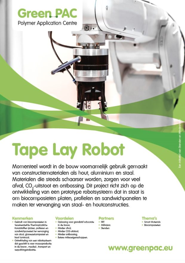 Tape Lay Robot